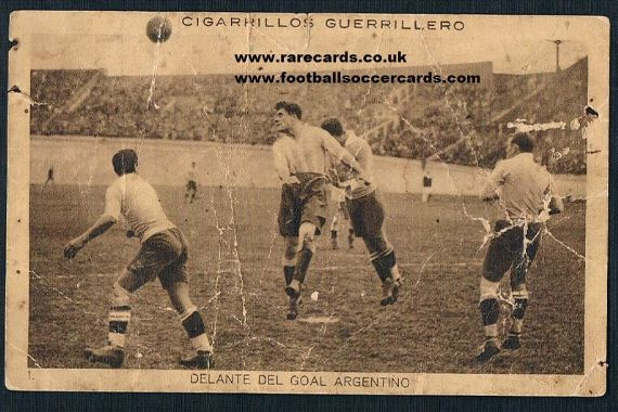 1928 Guerrillero tobacco Olympic ARG URG